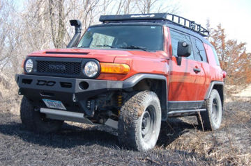 Picture of DEMELLO OFF-ROAD FJ FLAT TOP FRONT BUMPER