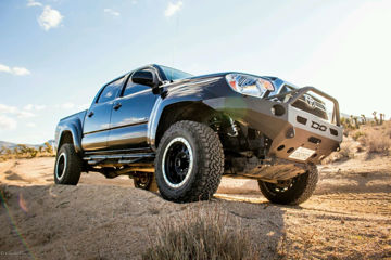 Picture of DEMELLO OFF-ROAD TACOMA BAJA HOOP FRONT BUMPER 12-15