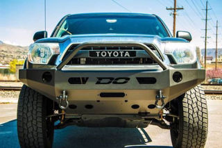 Toyota Tacoma Bumper >> Demello Off Road Tacoma Single Hoop Front Bumper 12 15