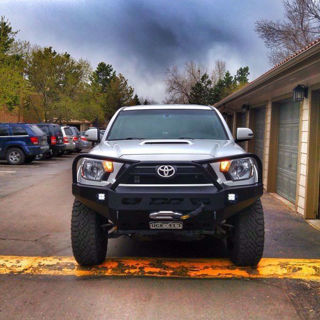 Picture of DEMELLO OFF-ROAD TACOMA 3 HOOP FRONT BUMPER 12-15