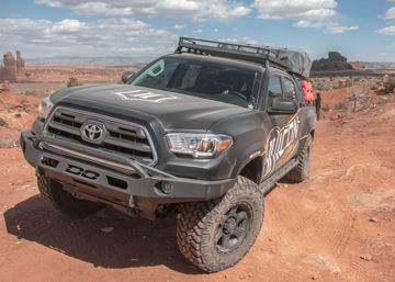 Picture of DEMELLO OFF-ROAD TACOMA LOW PROFILE BAJA FRONT BUMPER 16-20