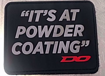 Picture of (It's at powder coating) patch