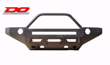 Picture of DEMELLO OFF-ROAD STEALTH SERIES LIGHT BAR SINGLE HOOP FRONT BUMPER 06-09 4RUNNER