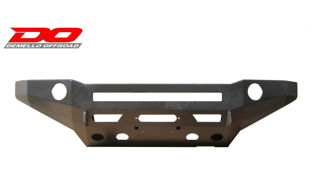 Picture of DEMELLO OFF-ROAD STEALTH SERIES LIGHT BAR FLAT TOP FRONT BUMPER 03-05 4RUNNER
